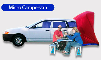 Backpacker Campervan hire New Zealand