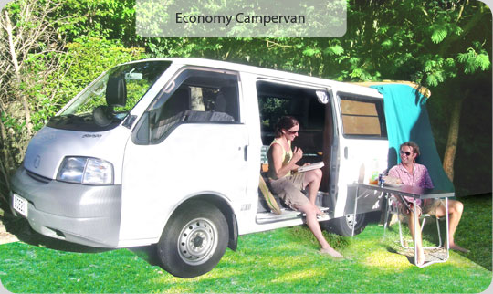 Campervan Village - Budget Campervan Rental New Zealand